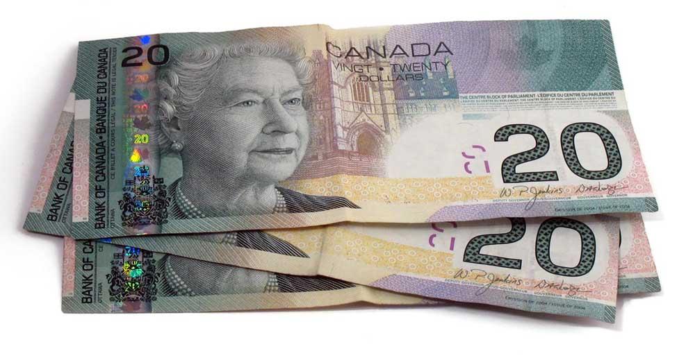 Обмін канадського долара на гривні