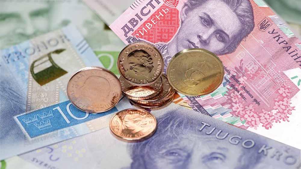 Курс валют шведська крона до гривні