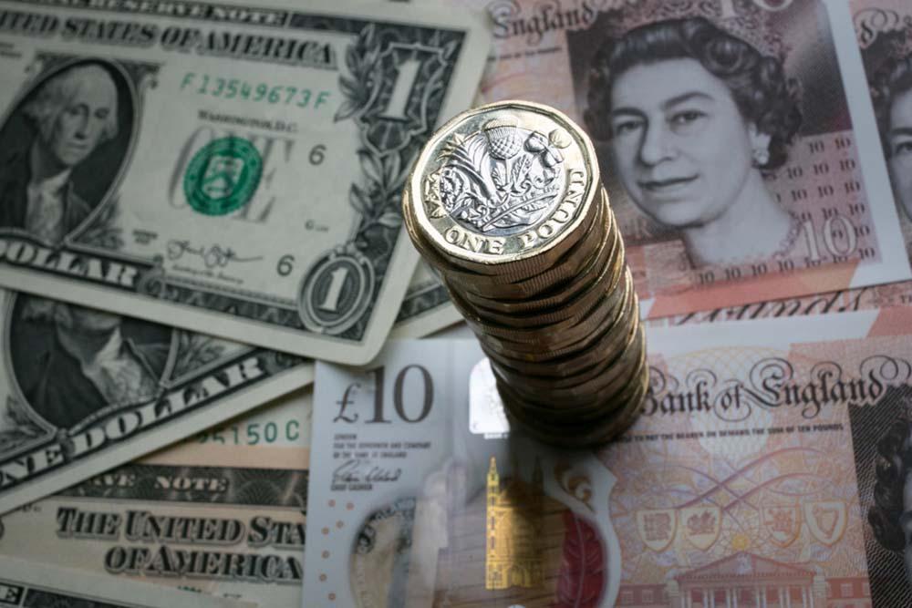 курс фунта до долара Дніпро