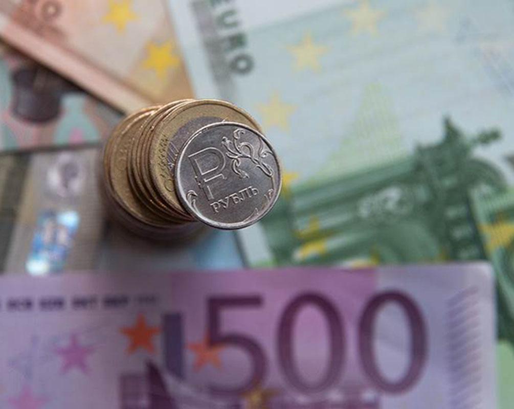 Курс рубля к евро онлайн