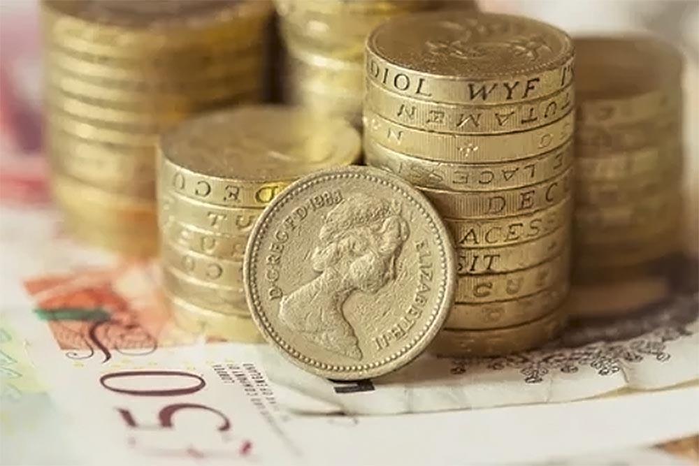 курс фунта до гривні в Дніпрі